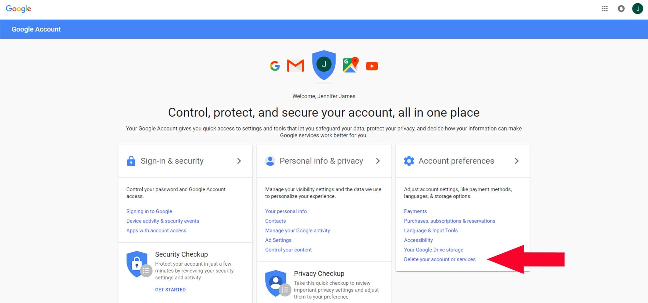 How to Delete a Google Account | Remove Google Accounts