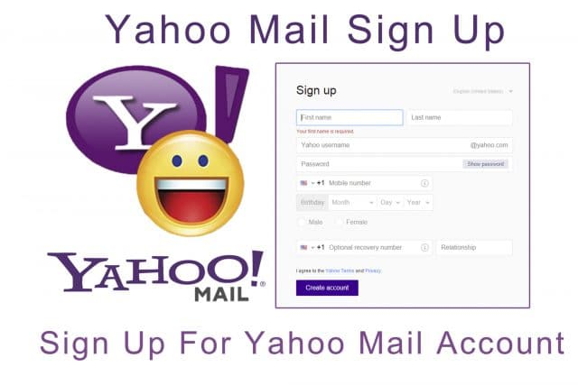 Yahoo Mail Sign Up – How To Perform a Yahoo Sign Up