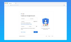 Create New Google Account – How to Make a New Google Account