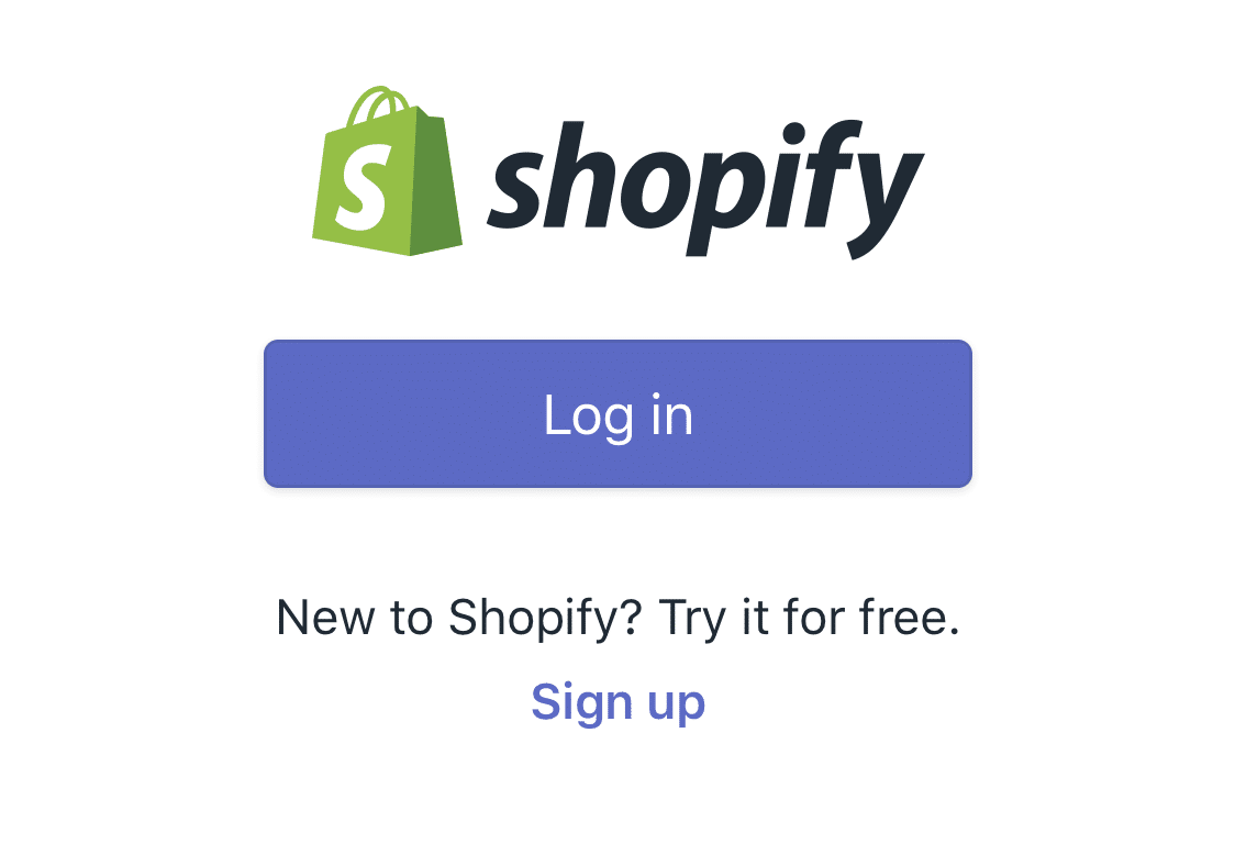 Shopify Login - How to Create a Shopify Online Store