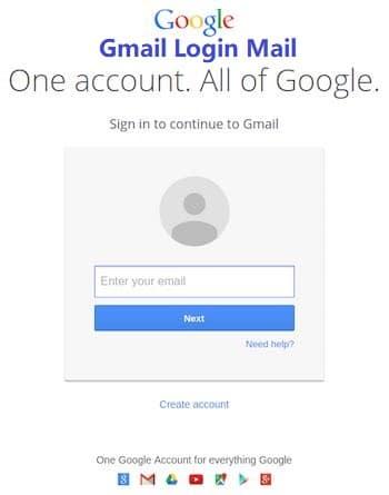 Gmail Login Mail - Gmail Account Login
