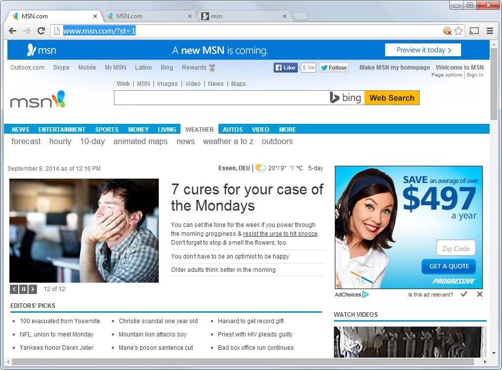 MSN Homepage – What is MSN News | MSN.com