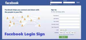Facebook Login Sign - Facebook Sign Up   Facebook Login Page