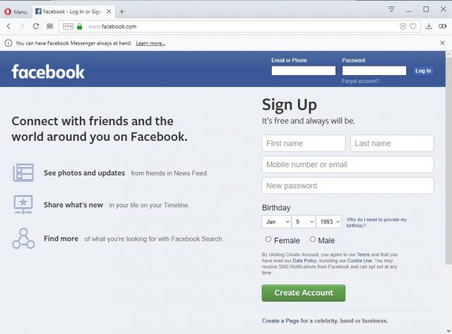 Facebook Sign Up - Facebook Login Sign | Facebook Login Page