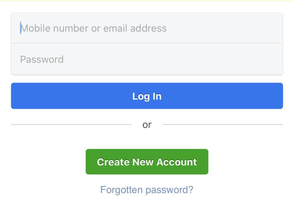 Facebook Login - How to Join Facebook | Facebook Mobile Login